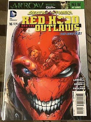 Red Hood and the Outlaws 16 (New 52) - NM