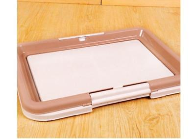 B48 Pet Toiletries Portable Dog Toilet Tray Litter Box Scoop Carrier Hooded