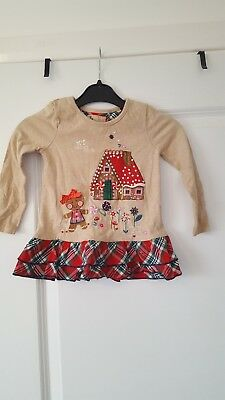 christmas top size 12-18 months