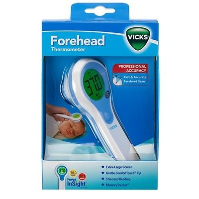 Vicks Forehead Thermometer - Professional Accuracy - V977C