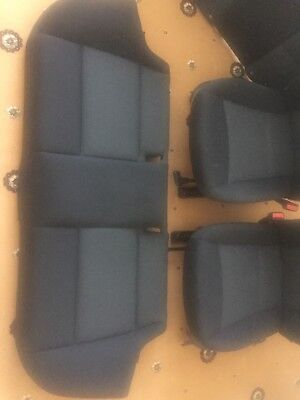 bmw e90 cloth seats black full set