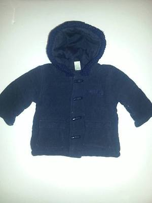 Baby Boy's Hooded Jacket 3-6 Months