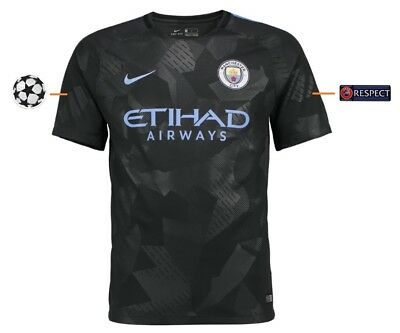 Trikot Nike Manchester City 2017-2018 Third UCL [152-XXL] Champions League 3rd