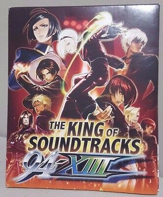 The King Of Fighters Soundtracks: 94-XIII (4 CD Soundtrack Collection) NEW