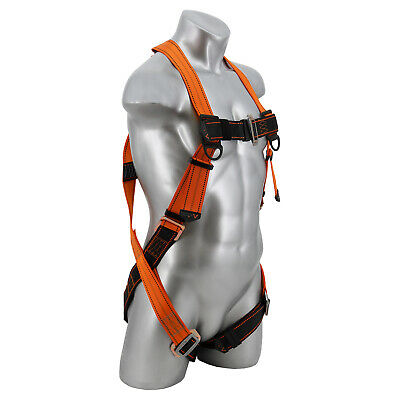 NEW-Warthog® Fall Arrest Rescue Full Body Harness with Pass-Thru Leg Buckles