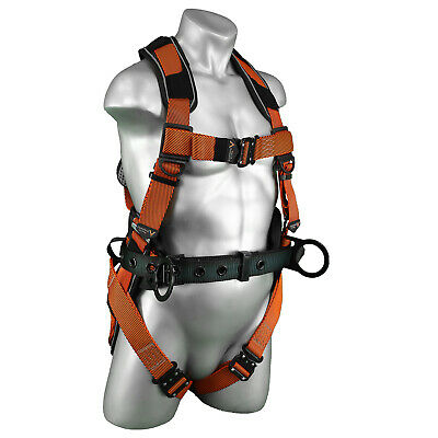 NEW - Warthog® Comfort MAXX Belted Side D-Ring Harness