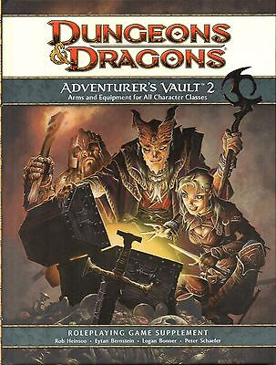 Dungeons & Dragons-D&D-AVENTURER´S VAULT 2-RPG-Roleplaying Game(HC)-new-rare