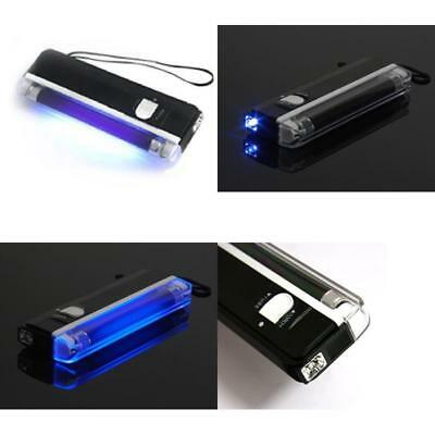 Ultra Violet LED Flashlight Lamp Portable Money Detector Battery Powered