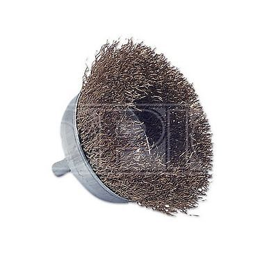 Laser Wire Brush - Cup Type - 2in./50mm (0350)