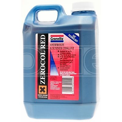 Granville Zerocol Antifreeze / Summer Coolant - Concentrated (2555A) - 2 Litres