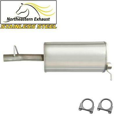 1998-2000 S10 Sonoma 2.2L 108 wheelbase Resonator Muffler Exhaust System fits