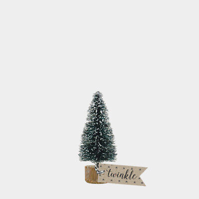 East of India Small Vintage Bottle Brush Fir Tree  Christmas /Home/Gift/Craft