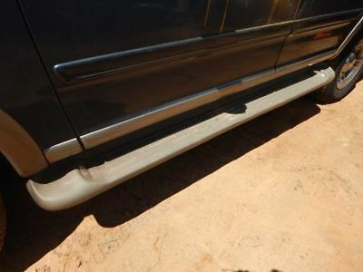 2000 Ford Expedition Left Driver Side Running Board w/ Lights Tan **OEM**