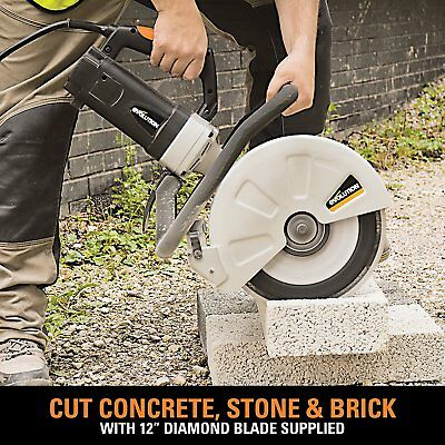 Concrete Cutter Tool Circular Saw Cut Masonry Electric Brick Blocks Construction