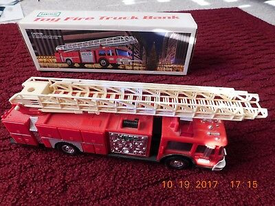 4 DIFF HESS TRUCKS  - 1986 - 1994 - 1996 - 2000 - GREAT CONDITION - NEW in BOXES