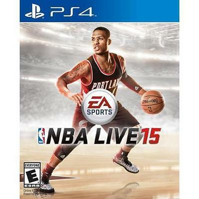 NBA Live 15  (Sony PlayStation 4, 2014)  Brand New Sealed  Fast Shipping !   PS4