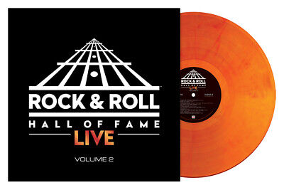 Rock & Roll Hall Of Fame Live Volume 2 180g LP (Orange & Red Marble Vinyl) Vinyl