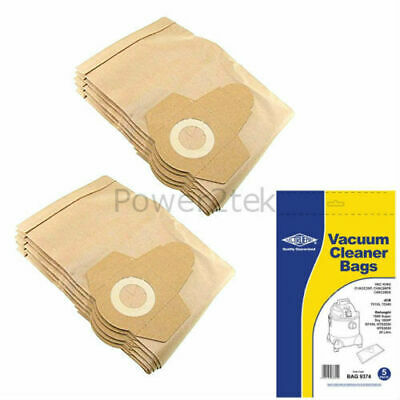 10 x (20 Litre) Vacuum Cleaner Bags for B&Q Performance Power PP20 1300W Hoover