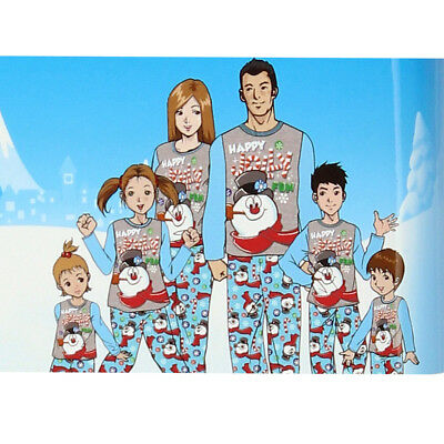 Frosty the Snowman Christmas Holiday Family Sleepwear Pajamas FW010MLL