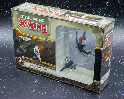 Star Wars X-Wing Miniatures Game Guns For Hire Expansion - New - Real Aus Stock!