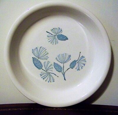 Marcrest Stetson Blue Spruce Pie Baking Serving Plate Vintage