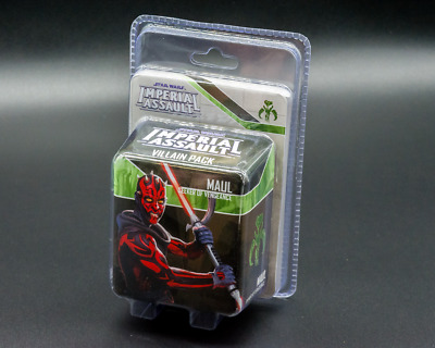 Star Wars Imperial Assault Maul Villian  - New - Real Aus Stock!