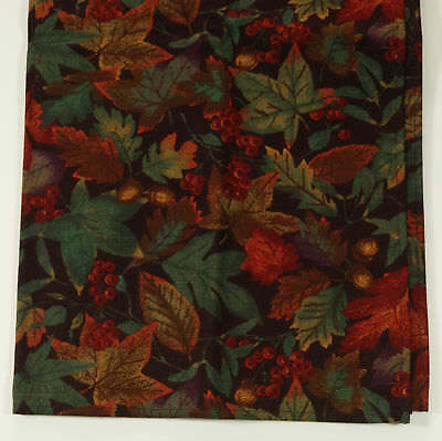 LONGABERGER Falling Leaves Autumn NAPKINS reversible New in Package