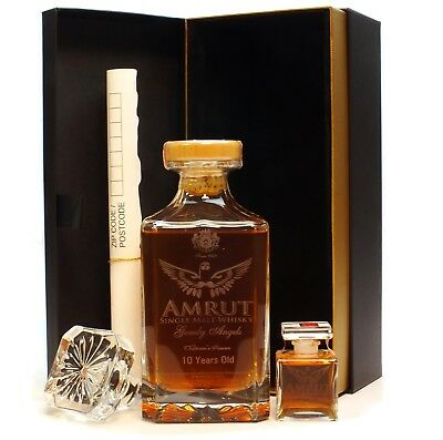 Amrut Greedy Angels 10 Year Old Indian Single Malt Whisky 700ml