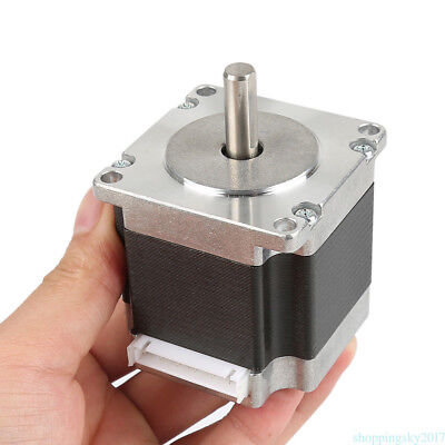 Schrittmotor Stepper Motor Nema 23 1.8°4-wires 76mm 3A 270oz-in1.8Nm Bipolar po8