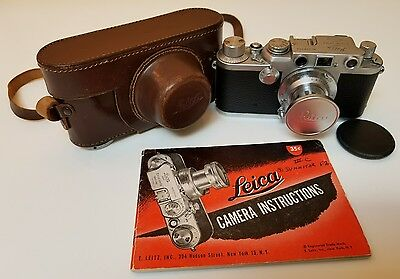 Leitz Leica lllf Red Dial Kit. Recent CLA in very good condition!!