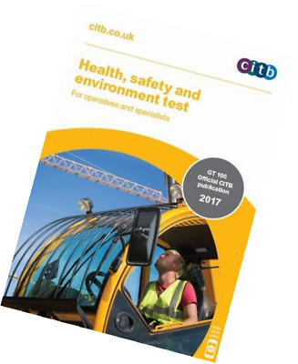 2017 CSCS CARD TEST BOOK for Operatives and Specialists: CITB GT 100/17