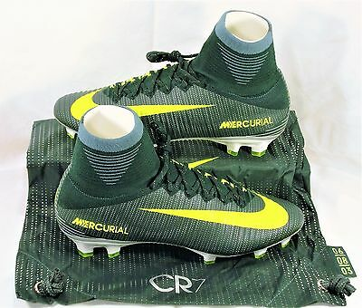 Nike Mercurial Superfly V CR7 FG Ronaldo Volt Soccer Cleat Sz 11 NEW 852511  376 e1aa23840