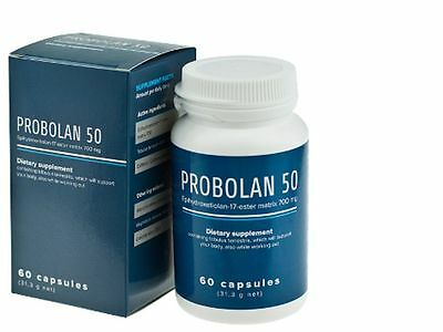 Probolan 50 SUPER STRONG 60 CAPSULES FOR MUSCLE MASS 100% FAST EFFECTIVE !!!
