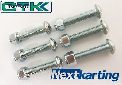 TonyKart / OTK Steering Wheel Boss Bolt Set Long - NextKarting