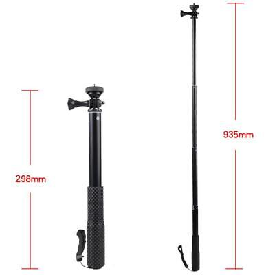 93cm Waterproof Monopod Handheld Selfie Stick Pole for GoPro Hero Cameras