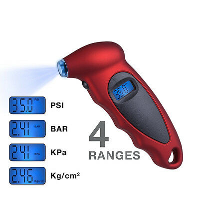 Digital LCD Tire Tyre Air Pressure Gauge Tester For Car Auto Motorcycle 150PSI