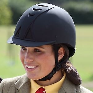 Shires Adults Mesh Bow Padded Comfort Showing Horse Riding Equestrian Hat Helmet