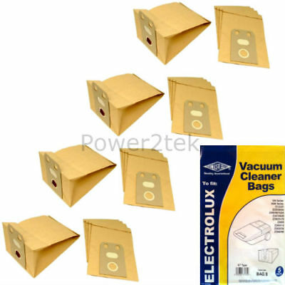 20 x E7 Vacuum Cleaner Bags for Electrolux Z2040 Hoover UK