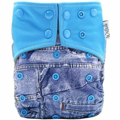 Jeans Design Bamboo Charcoal Cloth Nappy