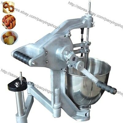 3-Mold 7.5L Manual Doughnut Donut Ball Maker Machine