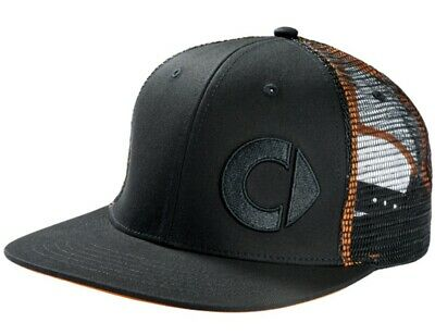 Original smart Baseball Cap FLATBRIM Schirmmütze Herren schwarz orange