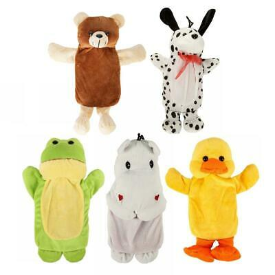 Cozy Creatures Super Soft Animal Childs Hot Water Bottle & Cover