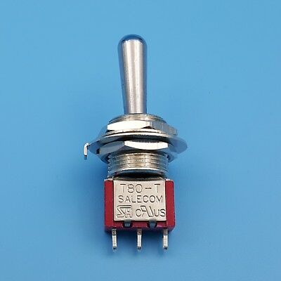 SH T8014A-Z1 12mm 3Pin (ON)-OFF-(ON) Momentary Large Handle Mini Toggle Switch