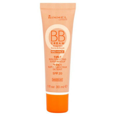 Rimmel 9-in-1 Skin perfecting BB cream Radiance, Medium SPF20