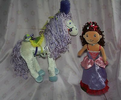 Manhattan Toy Groovy Style Primrose Horse And Groovy Girl Princess Ariana