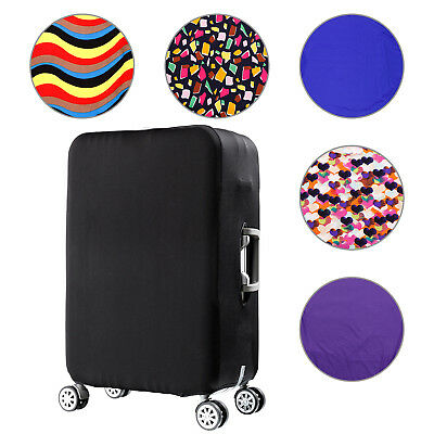 """Travel Luggage Suitcase Cover Protector Elastic Scratch Dustproof Bag 22''-28"""""""