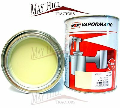 Case International Tractor Off White Paint 1 Litre Tin - Vapormatic