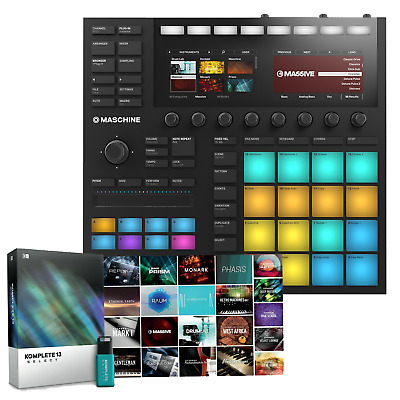 Native Instruments Maschine Mk3 & Komplete 12 Select Software