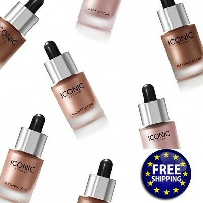 Iconic London Illuminator Drops -Original,Glow,Shine Full size 13.5ml- FREE POST