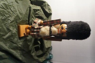 Nut Cracker Vintage Made in Western Germany Soldier Scottish